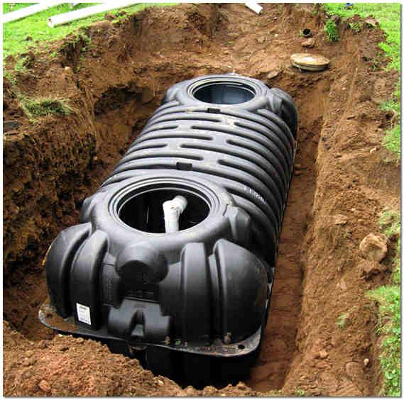 Современные системы канализации - септик Танк
