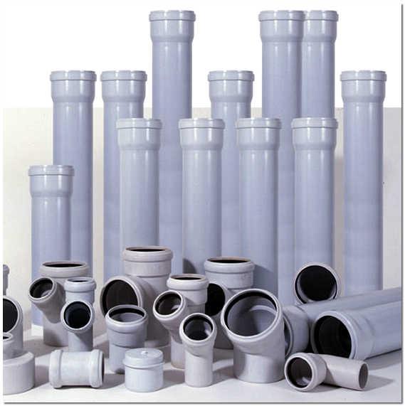Трубы канализационные внутренние ПВХ