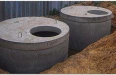Канализация из бетонных колец: устройство, преимущества и недостатки