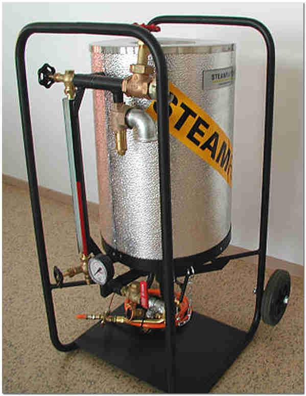 Компактный парогенератор работающий на сжиженном газе