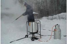 Несколько практических способов разморозки канализационных труб