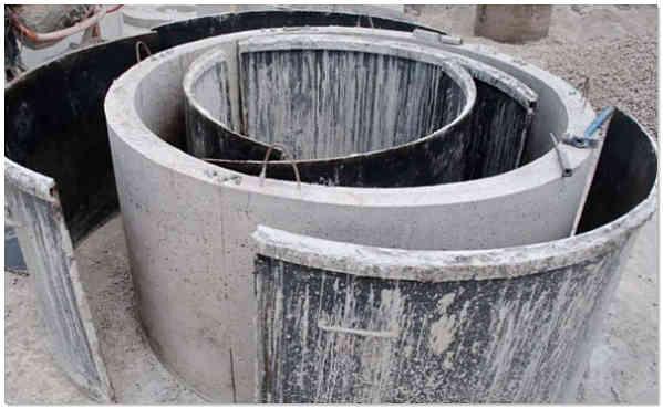 Изготовление бетонных колец своими руками фото