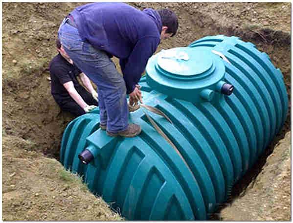 Монтаж емкости для канализации своими руками