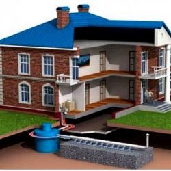 Устройство автономной канализации схема