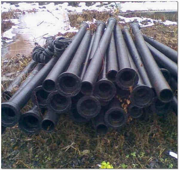 Чугунные трубы ЧНР используются для канализации и систем водоснабжения