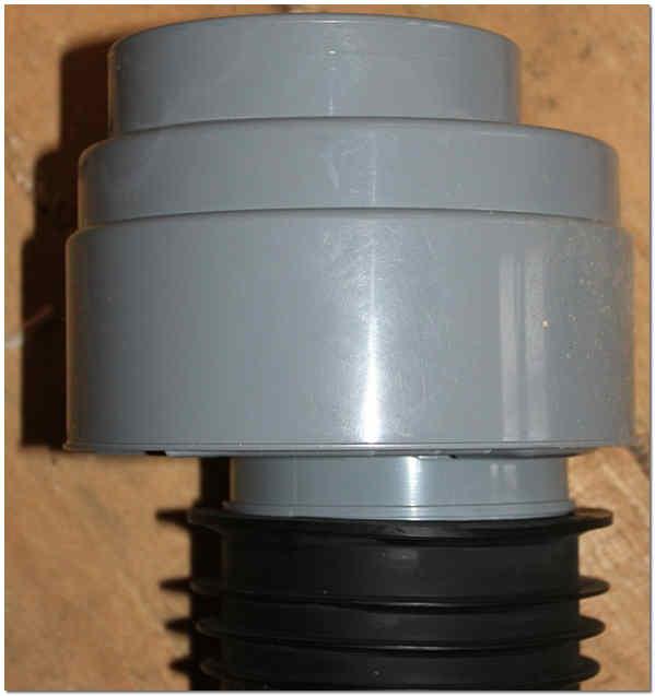 Фановый клапан для канализации 110 с манжетой