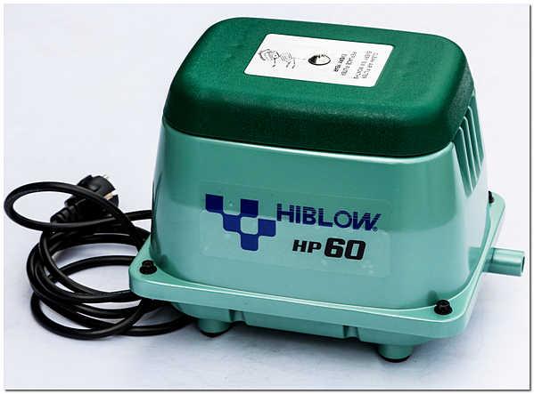 Аэрационный компрессор Hiblow HP-60