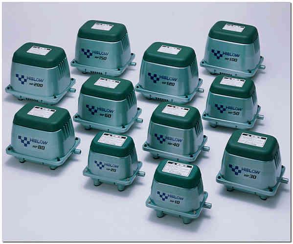 Мембранные компрессора HIBLOW HP фото