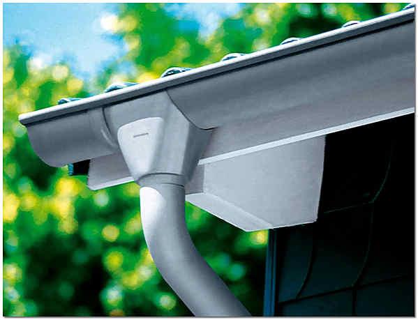 Как установить водостоки если крыша уже покрыта