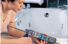 Герметик силиконовый сантехнический: рекомендации по выбору и правила применения