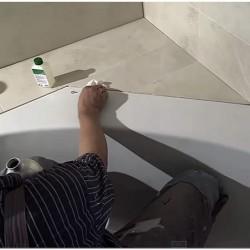 Подготовка поверхности к нанесению герметика фото
