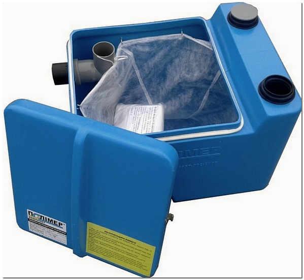 С установкой жироуловителя создается надежная защита для канализации