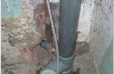 Замена канализационных труб с чугуна на пластик: делаем правильно