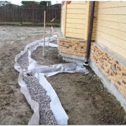 Дренажная система водоотведения