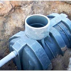 Пластиковая емкость для выгребной ямы