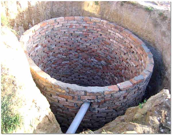 Сточная яма яма без дна