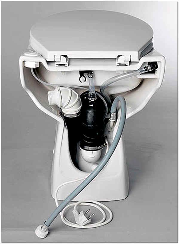 Фекальный насос с измельчителем для туалета