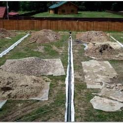 Осушение участка на глинистых почвах фото