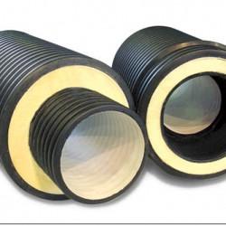 Трубы ИЗОКОРСИС-У предназначены для строительства незамерзающей безнапорной канализации