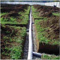 Устройство дренажа на глинистой почве с высоким уровнем воды