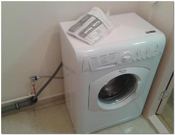 Подсоединение слива стиральной машины к канализации