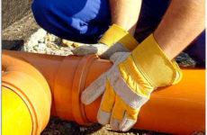 Рекомендации по выбору и устройству наружной канализации из рыжих труб