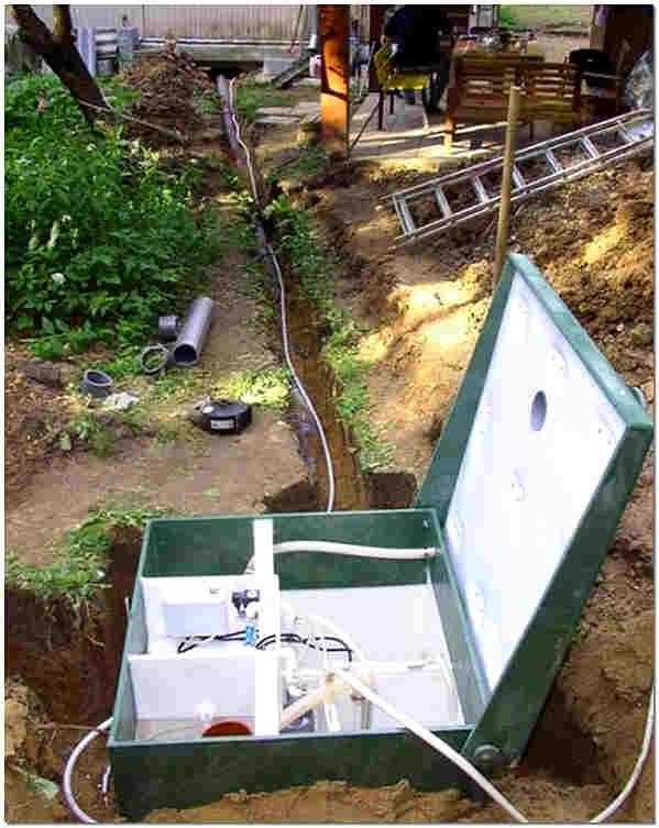 Монтаж станции биологической очистки стоков