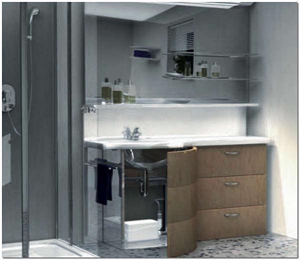 Подключение сололифта к канализации в ванной комнате