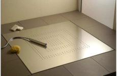 Как выбрать и установить сантехнический трап для душа в полу под керамическую плитку