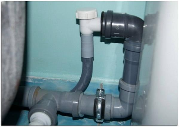 Подключение клапана для стиральной машины на слив