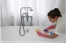 Чем чистить акриловую ванну – средства, советы и рекомендации