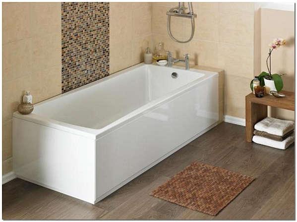 Акриловая ванна очень проста в монтаже