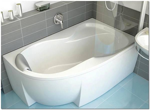 Ванны из акрила отличаются разнообразием форм