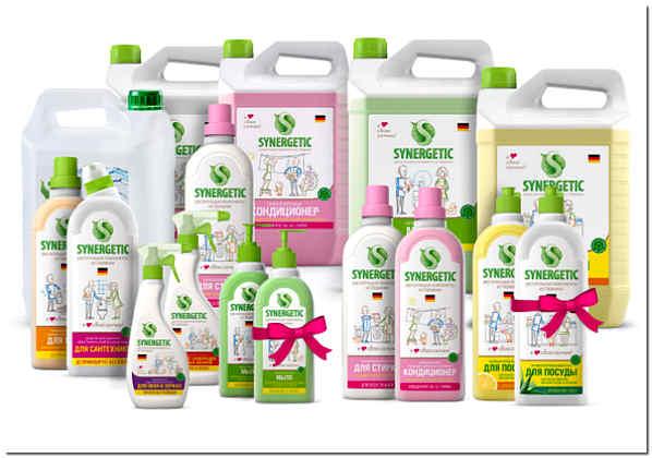 Биоразлагаемые экологичные моющие средства