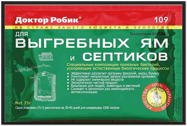 Препарат доктор робик 109