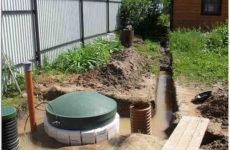 Септик для высокого уровня грунтовых вод: как выбрать и установить на участке